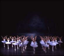 SWAN LAKE: Long arms, long legs, gratifying ensemble.