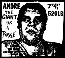 Shepard Fairey, Andre the Giant Has a Posse