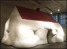 Erwin Wurm, Fat House/I Love My Time, I Don't Like My Time