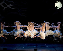 NOT JUST YOUR EVERYDAY SWAN LAKE: Matthew Bourne brings his all-male version to the Colonial.