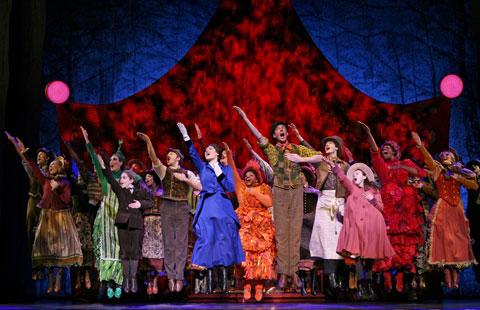 Mary Poppins at Boston Opera House