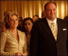 THE SOPRANOS: Carmela acknowledges complicity in Tony's dealings — and so does the audience.