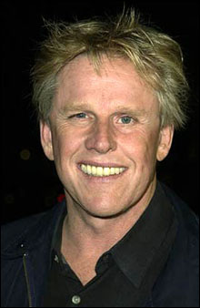 TERRIFIED YET: You don't want to be with Busey