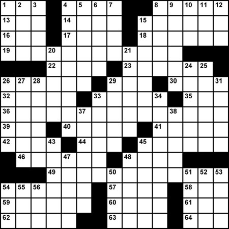 Crossword  - 01.20.06