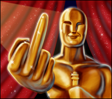 GIVING BUSH THE FINGER? Or are the Academy's intentions illusory?