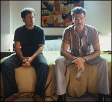 ODD COUPLE: And Shepard's film surprises with its tonal and narrative shifts.