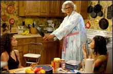 MADEA'S FAMILY REUNION: A mix of gospel, fart jokes, and drag