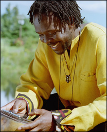 AFRICA CALLING: Uganda's Samite comes to Johnny D's on April 12.