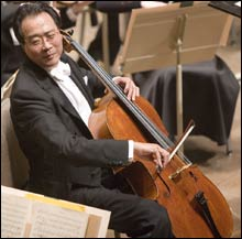 NOT YOUR COMMON MUSICIAN: And in David Robertson, Yo-Yo Ma had not your average collaborator.