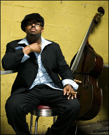 SOUL MAN: Christian McBride is confident he can reach beyond the core jazz audience without losing the faithful.