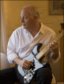 TONE POET: Like Clapton and Page, Gilmour continues to stretch blues influences in all directions.