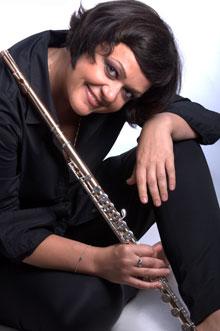 flutist Ilona Kudina