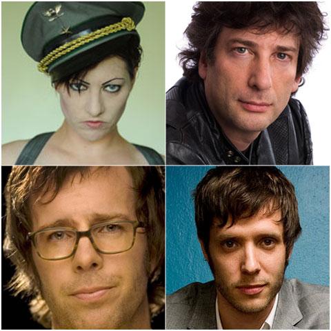 Amanda Palmer, Neil Gaiman, Ben Folds, Damian Kulash