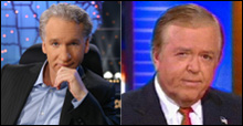 Bill Maher and Lou Dobbs