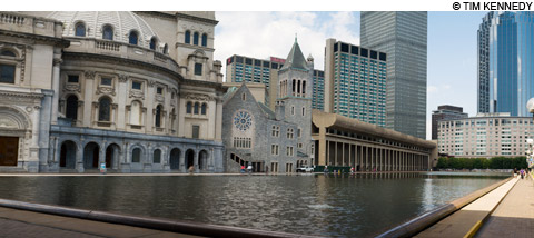 Christain Science plaza redevelopment