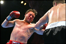 PACKING A PUNCH: Vinny Paz in his heyday.