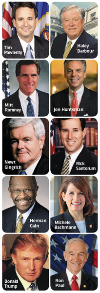 New Hampshire's GOP are lined up for the 2012 primary