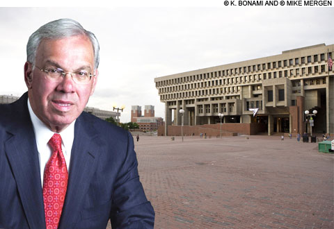 Tom Menino runs for mayor again in 2013