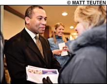 OIL AND SUGAR WATER Deval Patrick's big business history could help or hurt him at the polls.