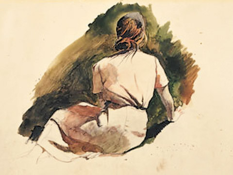Andrew Wyeth, Christina's World and the Olson House at Farnsworth Art Museum
