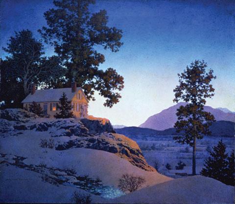 4.EveningWinterscape.1956_l